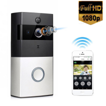 REHENT 1080P Full HD Smart WiFi Wireless Enabled Rechargeable Battery Powered Video Doorbell Camera