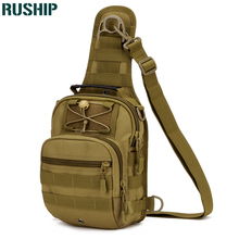 Tactics Chest Bag Hike Camp Equipment Outdoors Nylon Wading Chest Pack Cross body Sling Single Messenger Shoulder Bag Men Unisex