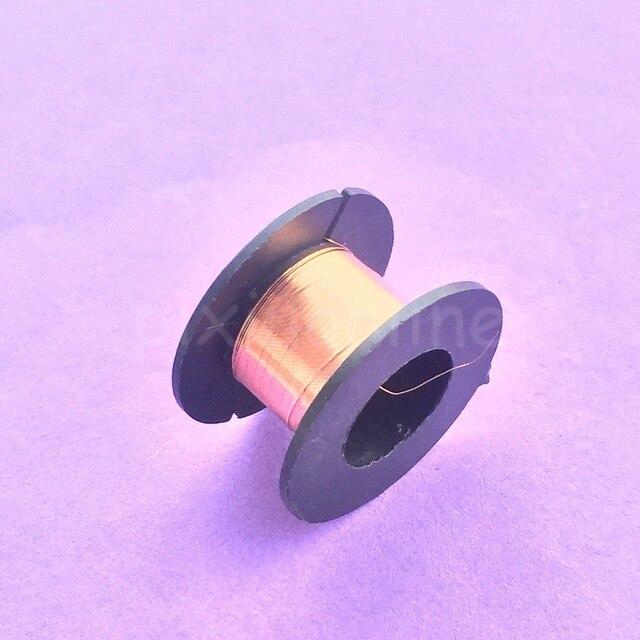 1 rolle J439Y 0,1mm Durchmesser Lackiert Draht Dünn Kupferdraht DIY ...