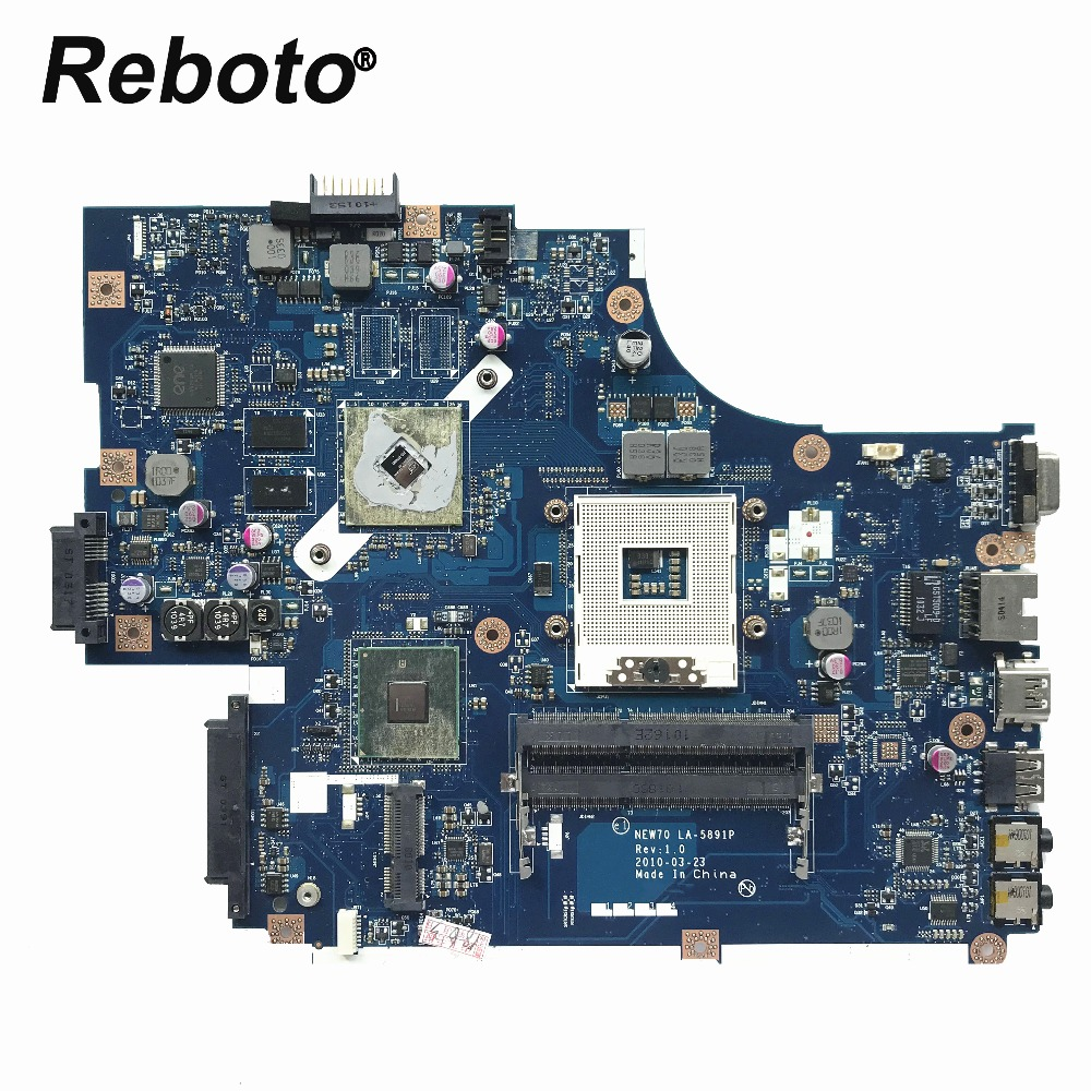 Reboto For Acer Aspire 5741 5741G 5742 5742G Laptop Motherboard MBR5402001 MB.R5402.001 NEW70 LA-5891P HM55 HD5470/512MB