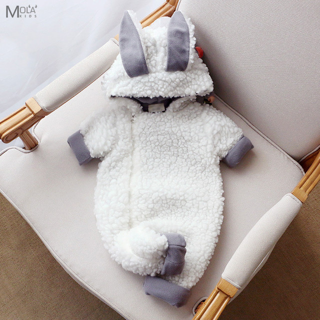 88336ac7a KIKIKIDS New Born Baby Clothes Cute Sheep Romper Animal Rompers New ...