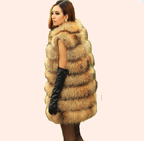 D'hiver Mode Fourrure Pour Meilleur Femmes Laveur En Réel Chien De Fourrures Naturelle Color Raton X Manteaux Natural Veste Véritable Gros Les Vestes Begin long vxZvOnY