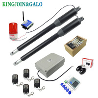 Electric Linear Actuator 200kg 300kgs Engine Motor System Automatic Swing Gate Opener + 2 remote control