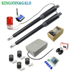 Electric Linear Actuator 200kg-300kgs Engine Motor System Automatic Swing Gate Opener + 2 remote control