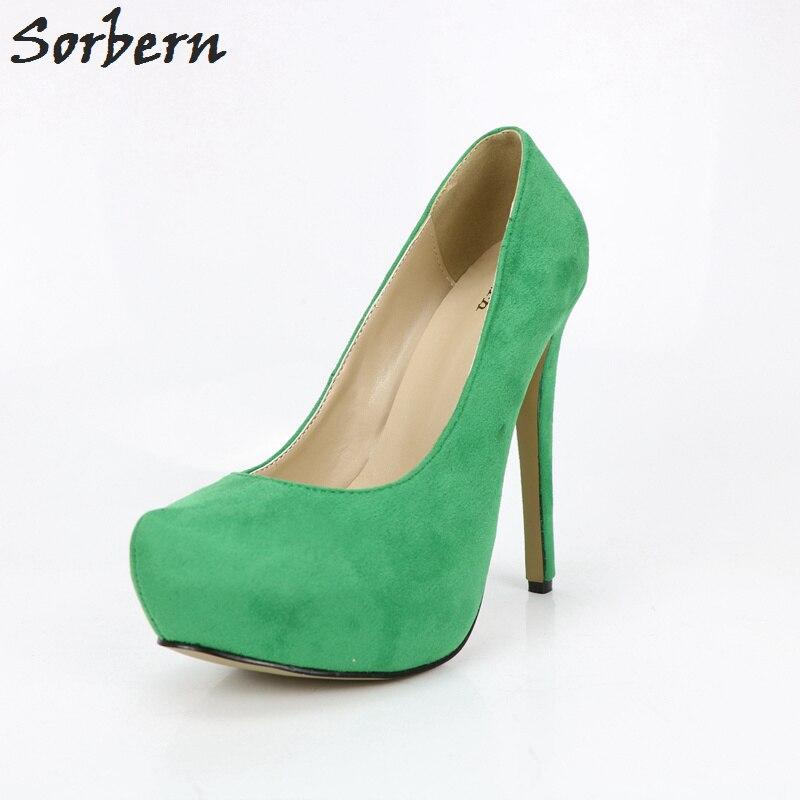 Detail Feedback Questions about Sorbern Green Platform Women Shoes ... 2b1a1968b0c6