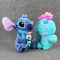 24-27 см Лило и Стежка Scrump Плюшевые Игрушки Куклы Симпатичные Стежка Мягкий Фаршированные Куклы Для Детей Подарок