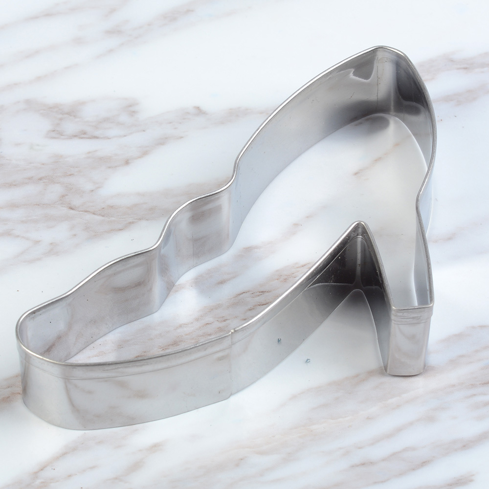 Stainless Steel High Heel Shoe Cookie Cutter