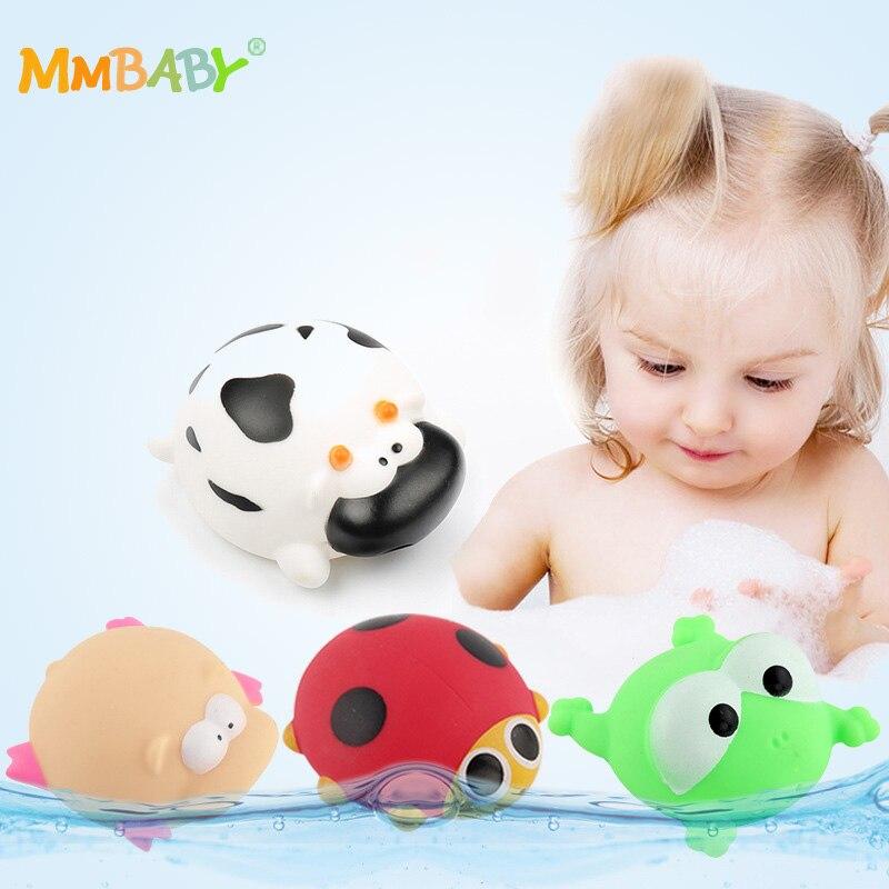 Sammeln & Seltenes Gutherzig Mmbaby 1 Pcs Bad Spielzeug Bad Baby Spielzeug Kinder Wasser Spray Tier Weiche Gummi Spielzeug Ente Grün Frosch Jungen Mädchen