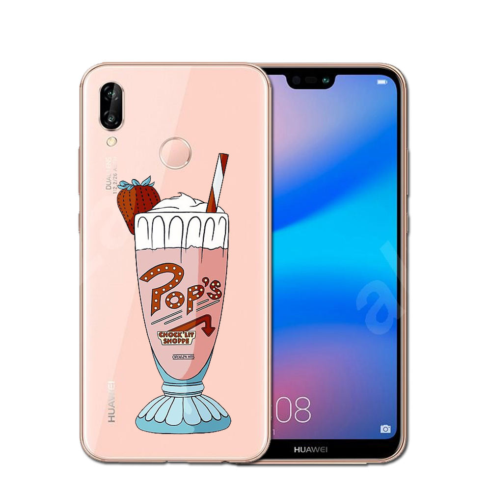 new arrival 1990a ef94e Hot TV Riverdale Soft TPU Phone Case Cover For Huawei P10 P20 Pro P9 P8  Lite Mate 10 Pro Honor 9 10 Lite 6X 7X Y5 Y6 II Y7 2017