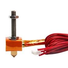 Geeetech Hot End Kit Düse 0,4mm für 1,75mm Filament Spezielle für MeCreator 2 MK8 Extruder