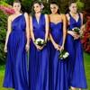2016 Summer Sexy Royal Blue Multiway Bridesmaids Convertible Dres Sexy Women Wrap Maxi Dress Long Dress