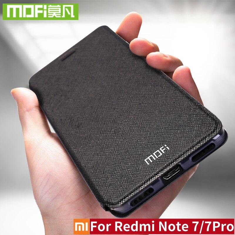 For Xiaomi Redmi Note 7 Case Silicon Cover Flip Leather Original Mofi Xiomi Redmi Note 7 Pro Case 32gb 64gb Note7 360 shockproofFor Xiaomi Redmi Note 7 Case Silicon Cover Flip Leather Original Mofi Xiomi Redmi Note 7 Pro Case 32gb 64gb Note7 360 shockproof