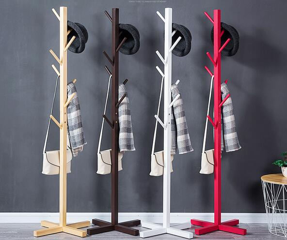 Coat rack Solid wood simple fall coat racks simple clothes hanger fashion clothes rack living room accommodating bedroom hangers велопокрышка continental grand prix 700x25c 25 622 180tpi складная борт кевлар черная 100637