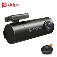 DDPai Mini Wifi Car DVR Rotatable Lens HD Night Vision Dash Cam Recorder Bluetooth Wireless Remote