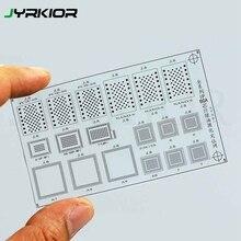 Jyrkior Plastic Net Sheet BGA Reballing Stencil GREEN UV Solder Mask Ink Repair