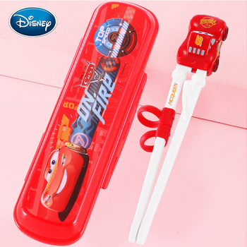 Disney children's chopsticks training chopsticks baby chopsticks practice chopsticks baby Anna cutlery set фото