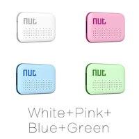 4Pieces Nut 3 Mini Smart Key Finder Itag Bluetooth Tracker Locator Luggage Wallet Phone Key Anti