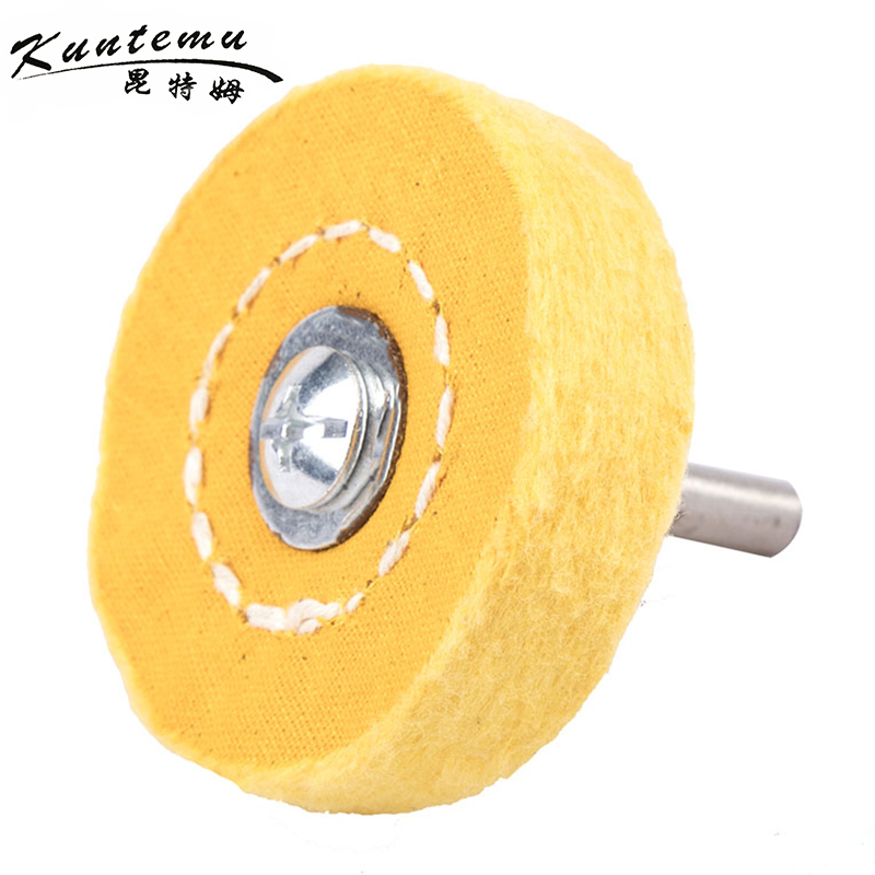 10PCS Cotton Polishing Wheel 2