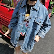 Cheap wholesale 2018new Autumn Winter Hot sale womens fashion casual student popular plus big pius size pure color denim jacket