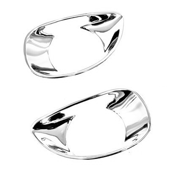 Chrome Styling Front Fog Light Cover For Toyota Yaris Second Generation 2005-2011 Hatchback Chrome Styling Front Fog Light Cover For Toyota Yaris Second Generation 2005-2011 Hatchback