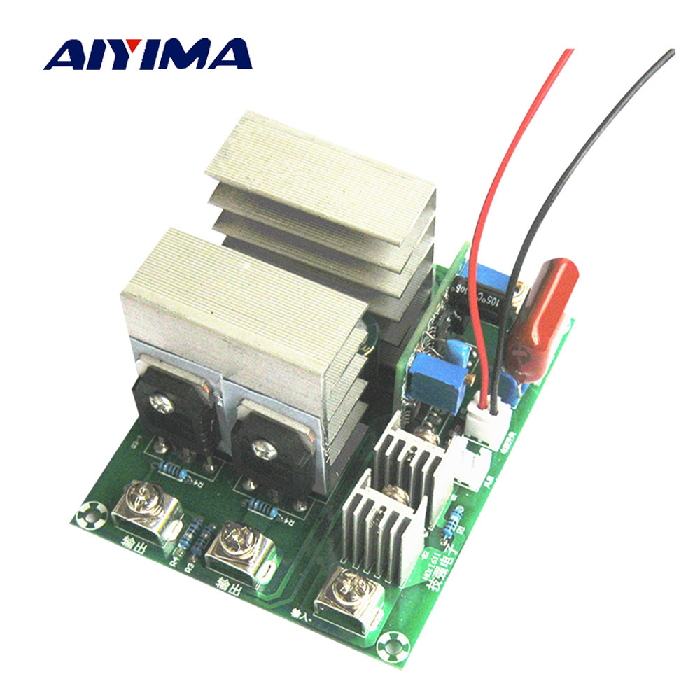 Online Shop Aiyima 12 24v Sg3524 High Power Inverter Driver Board On Images For Using Circuit Diagram Image Single Dc 12v To Ac 220v 50hz Drive 500w With A Voltage Regulator