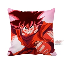 Dragon Ball Anime Super Saiyan Son Goku Cool Soft Multi Size Throw Pillow Case Free Shipping
