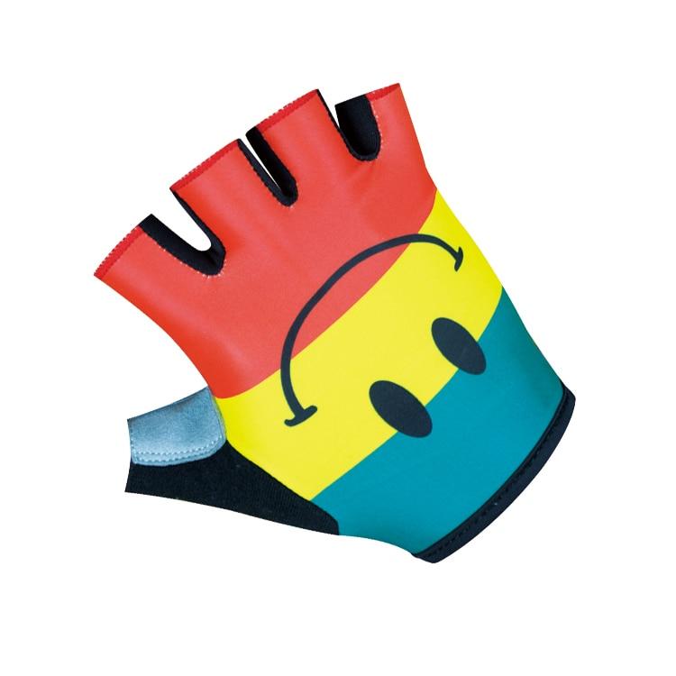 2018 Nieuwe collectie Hoge kwaliteit fietshandschoenen Fiets fietshandschoenen 3D GEL schokbestendig Sport halve vinger handschoen maat S-XXL