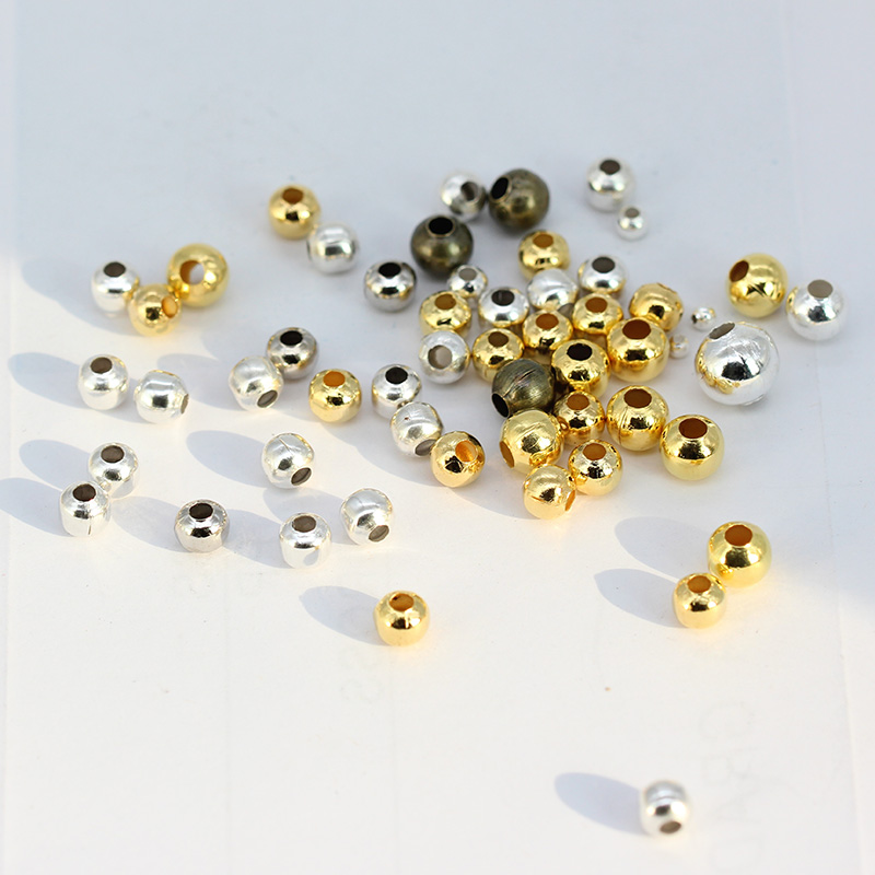 36J 100 FILIGREE GOLD PLATED METAL SPACER BEADS 4mm~Wine Glass Charms~Christmas
