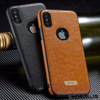 Leather Ultra Thin iPhone Xs Max 5