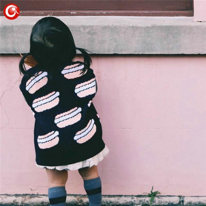 12M-4T AutumnWinter Children Girls Cardigan Fashion Cotton Kids Boys Sweater Baby Knit Open Stitch Jumper Clothes For Christmas (3)