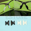 Caliente Gafas Sunglass Gafas de Silicona Antideslizante Almohadillas de Nariz Suave Regalo