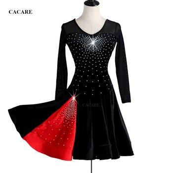 274bb0d705e5d7c CACARE костюмы для латинских танцев платье для женщин Распродажа платье для  латиноамериканских танцев сальсы танцы Конкурс платья женщин Про..