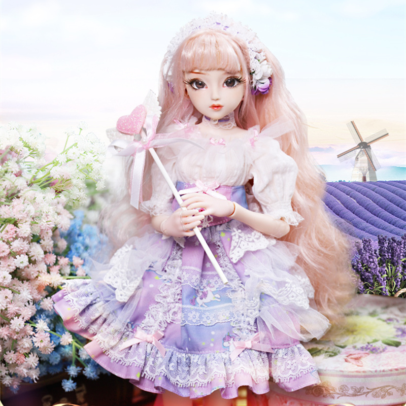 Diary Queen 1 4 BJD Blyth Doll Joint Body Teresa with makeup include outfit shoes hair