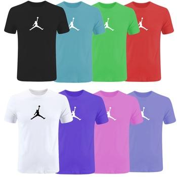 Jordan motion tshirt Summer 2019 NewTrend off white t shirt men 3d Print Unisex Short Sleeve O-neck Shirts gym streetwear