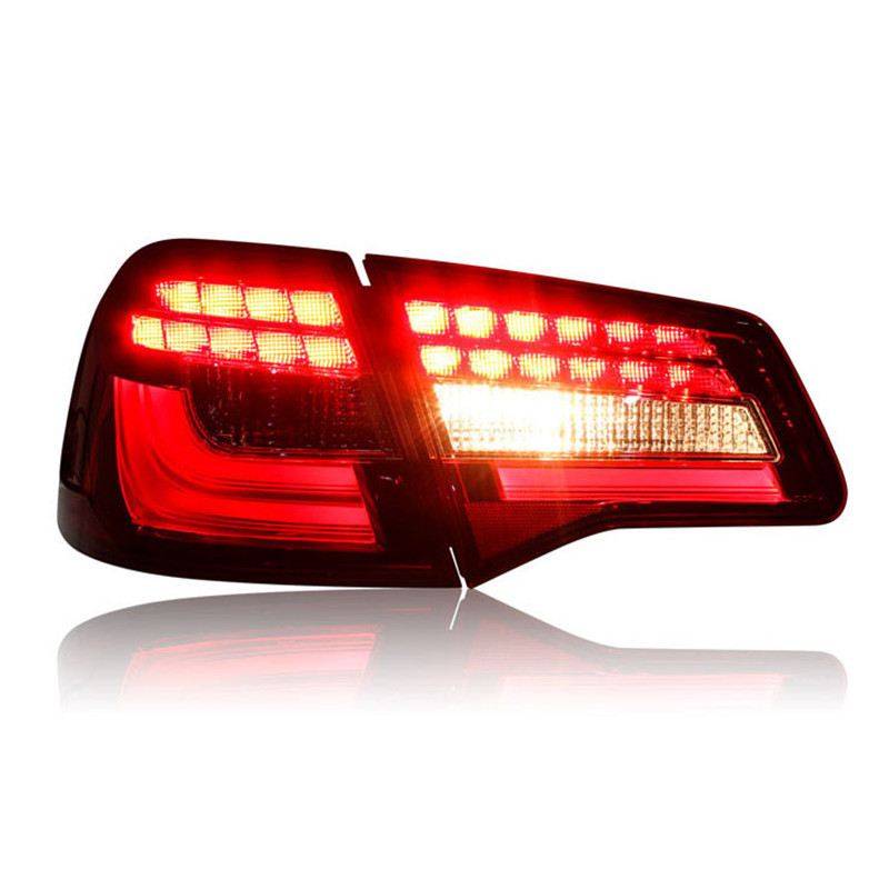 Ownsun High Quality LED DRLs+Brake Lights+Reversing Lights+Turn Singnal Car Rear Taillights Tail Lamps For Volkswagen Bora automotive halogen lamps tail lights rogue reversing lights brake lights beep sound the alarm lamp