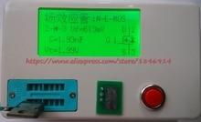 Бесплатная Доставка Универсальный транзистор тестер RLC регулятор напряжения трубка ESR высокая точность индуктивность метр Конденсатор стол