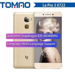 LeTV LeEco Le Pro 3 Elite X722 Smartphone 4GB RAM 32GB ROM Quad Core Android 6.0 Snapdragon 820 5.5