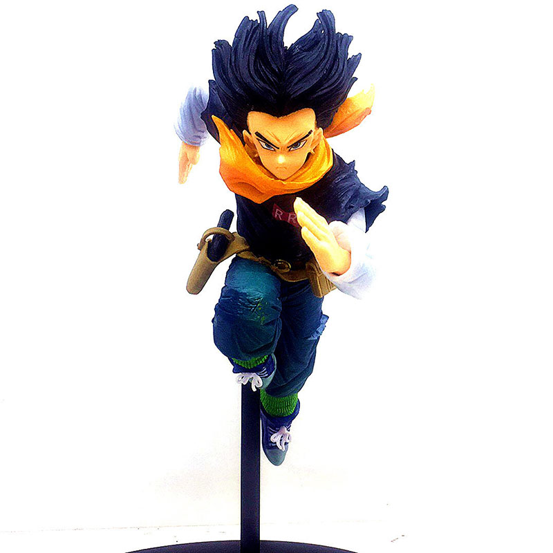 Dragon Ball Z Android 17 Action Figure 1/8 scale painted figure BWFC Running Ver. Lapis PVC figure Toy Brinquedos Anime