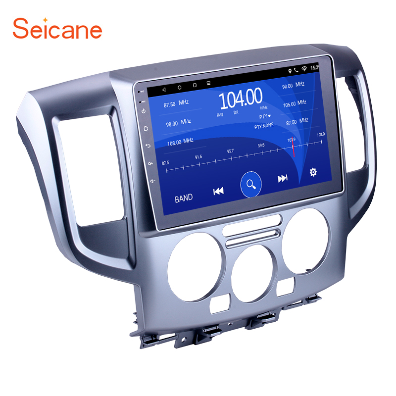 Seicane 9 inch Android 7.1/8.1 Car Stereo Radio Head Unit Player GPS Navigation for 2009 2016 NISSAN NV200 Rom 16GB+Quad Core