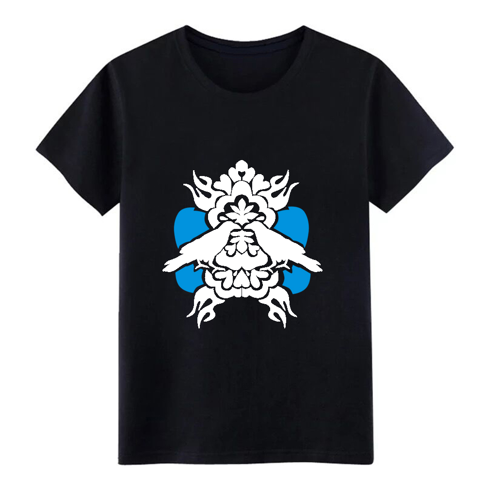 Men's Raven t shirt Customized 100% cotton S-XXXL Outfit Fit Breathable summer Kawaii shirt