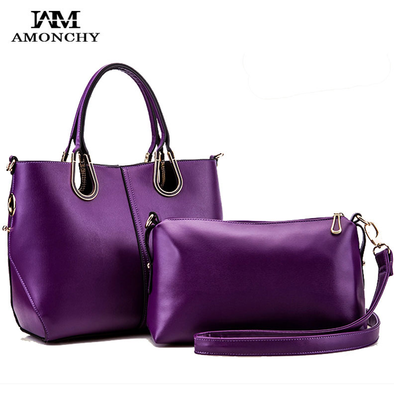 ФОТО 2017 New Fashion Women Leather Handbags High Quality Casual Ladies Tote Bags Brand Shoulder Shopping Composite Bag Bolso Mujer