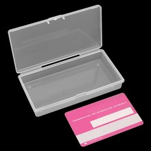 Transparent Clear Storage Box Rectangular Plastic Container Case Jewelry Organizer(China)