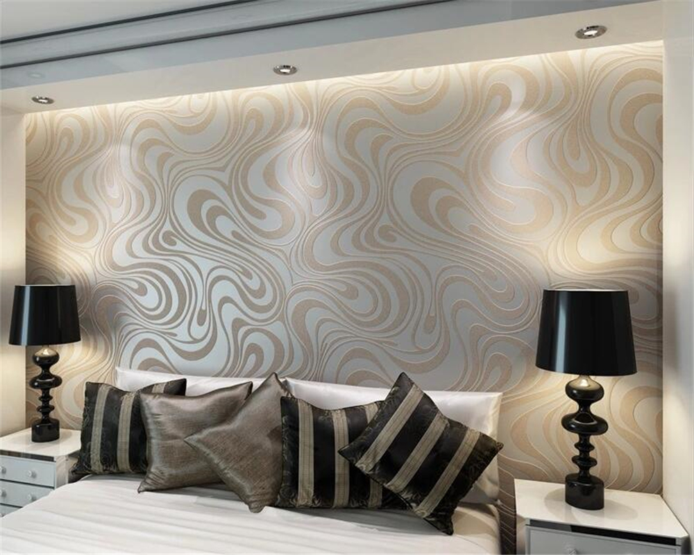 beibehang Modern Simple Non - woven Wallpaper Striped Bedroom Living Room TV Background Wallpaper 3D papel de parede wall paper цены