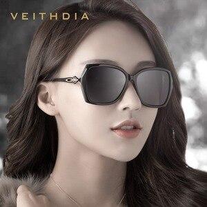 Image 3 - VEITHDIA lunettes de soleil rétro femmes