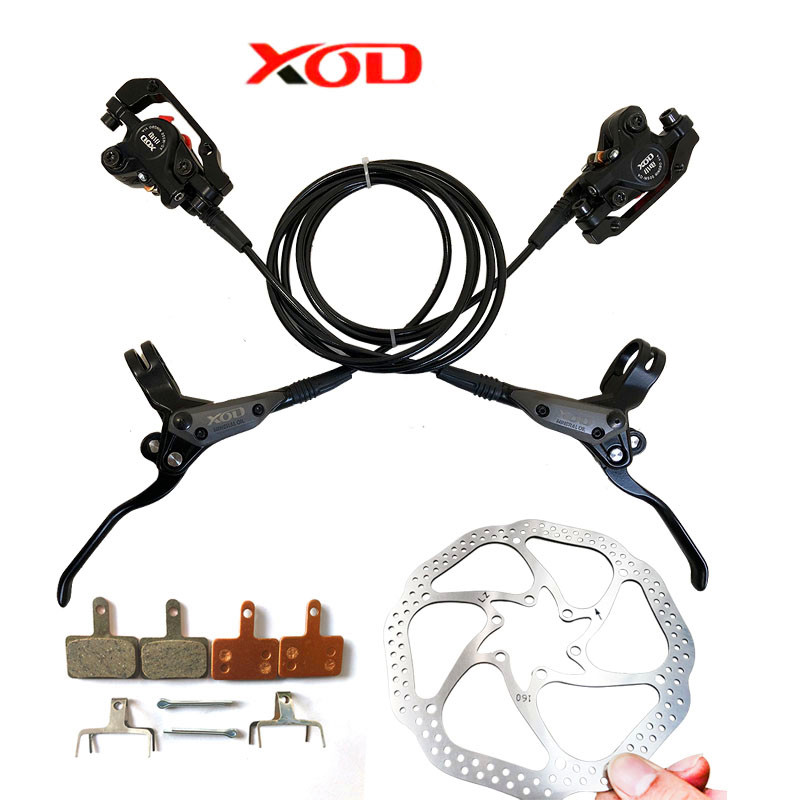XOD vélo disque de pression d'huile de frein Montagne vélo Hydraulique Frein À Disque Hydraulique De Frein Pad