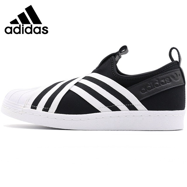 Original New Arrival 2018 Adidas Originals SUPERSTAR SLIPON W Women s  Skateboarding Shoes Sneakers 04f5c5528140
