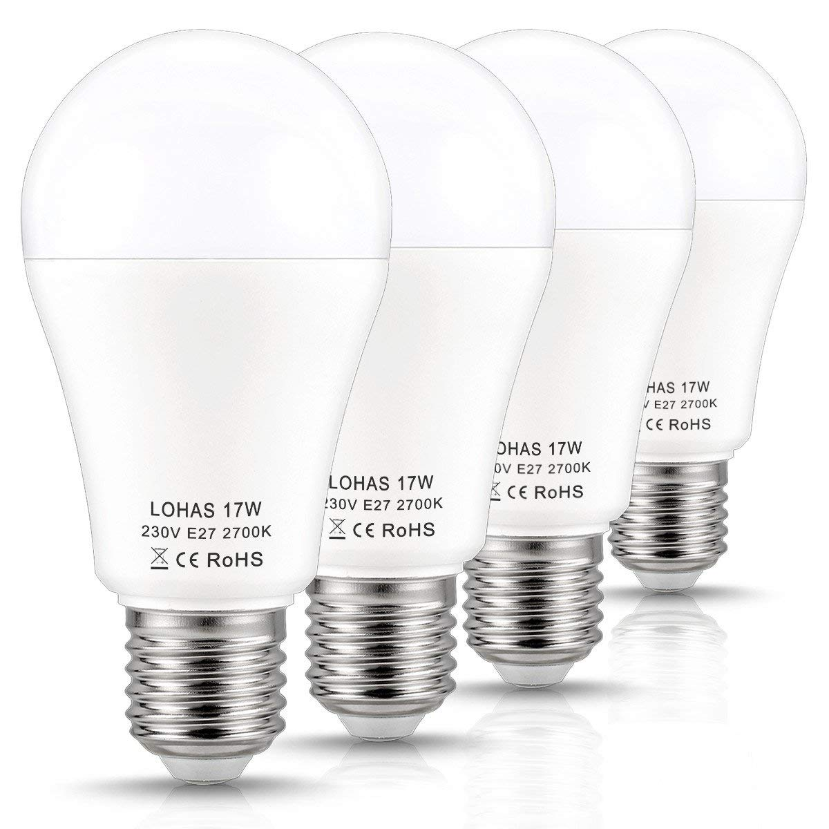 E27 Led Bulbs 150w Equivalent 17w Led Edison Screw Light