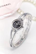 New Fashion Rhinestone zegarki damskie luksusowe marki stal nierdzewna bransoletka Zegarki Damskie zegarki kwarcowe sukienka Reloj mujer zegar tanie tanio Odporny na wstrząsy wieczny kalendarz 25mm Quartz 18cm Okrągłe No waterproof 10mm Papieru Hardlex AC070 Fashion Casual