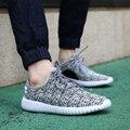 2017 Nuevos Hombres Respirables Zapatos Casuales netos Zapatos Tenis Femenino femme chaussure Plana Para Hombre Entrenadores Zapatillas Deportivas Mujer