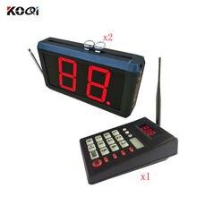 Светодиодный дисплей система вызова очереди светодиодный для